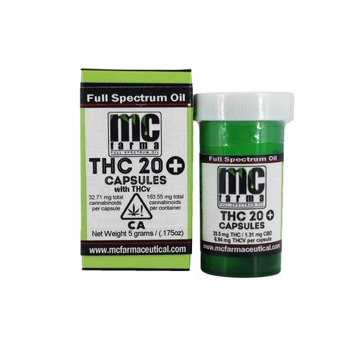 THC 20 + THCV Capsule