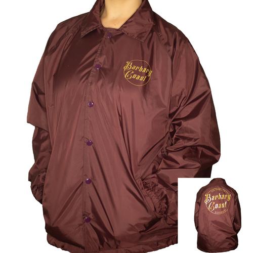 Maroon Coach's Jacket L