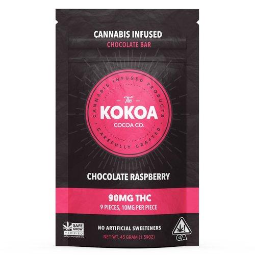 90mg Raspberry Dark Chocolate