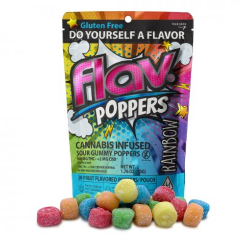 100mg Rainbow Sour Poppers