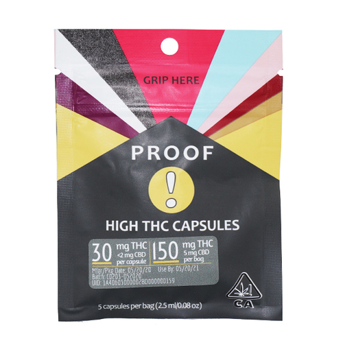 High THC Capsules 5 Pack