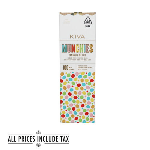 Munchies Milk Chocolate Bar with Fruity Flakes
