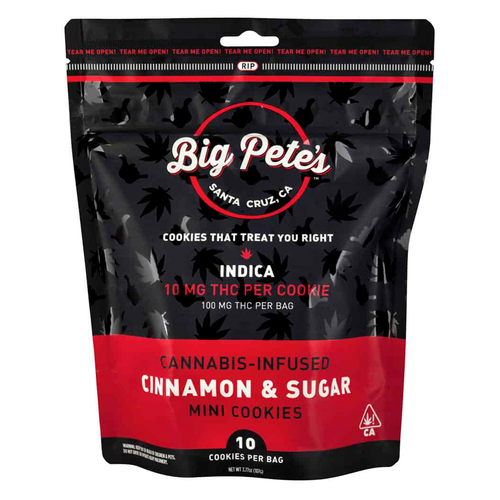 Cinnamon & Sugar Indica Mini Cookies - 10 pack