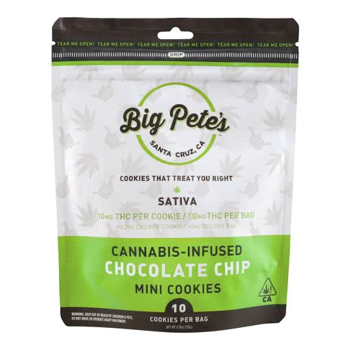 Sativa Chocolate Chip Cookies 10 Pack