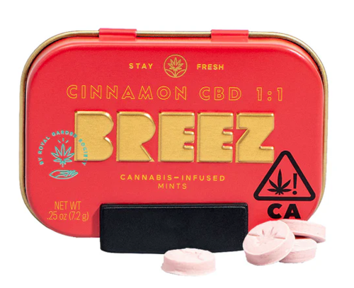 Cinnamon CBD Mint Tin 20pk