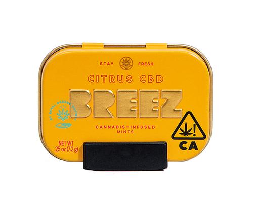 Citrus CBD Mints