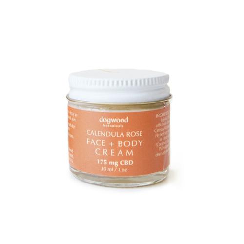 Calendula Rose Face & Body Cream 1oz