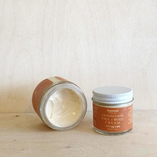 Calendula Rose Face & Body Cream 1oz