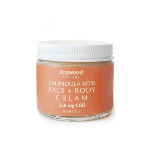 Calendula Rose Face & Body Cream 2oz