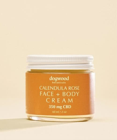 Calendula Rose Face & Body Cream 2oz