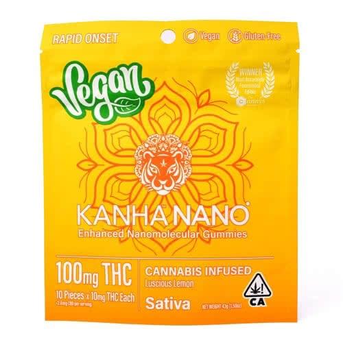 Lemon Vegan Nano Gummies