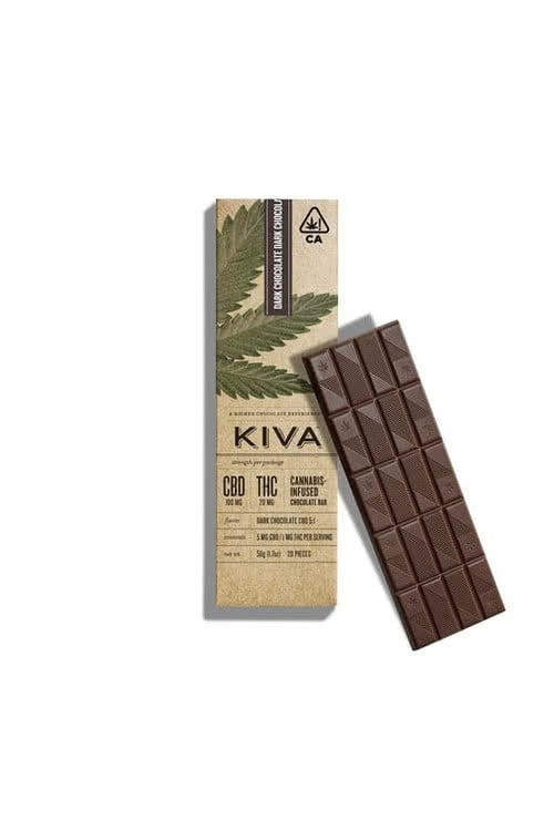 Dark Chocolate Espresso Kiva Bar