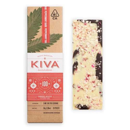 Peppermint Bark Kiva Bar