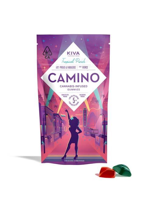 Tropical Punch Camino Gummies
