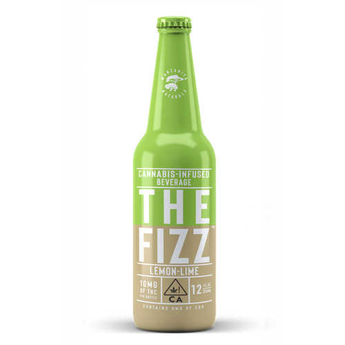 The Fizz Lemon Lime 12 fl oz