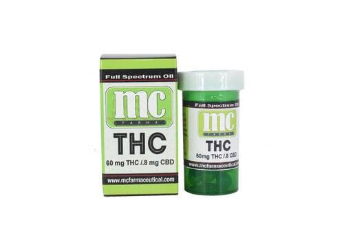 Capsules - THC 60  [10pk]