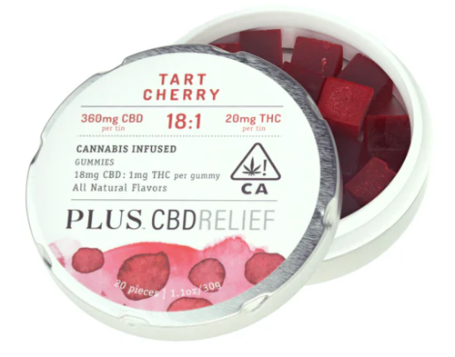 Tart Cherry 18:1 CBD:THC 20pk