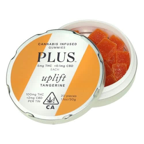 Uplift Tangerine Gummies