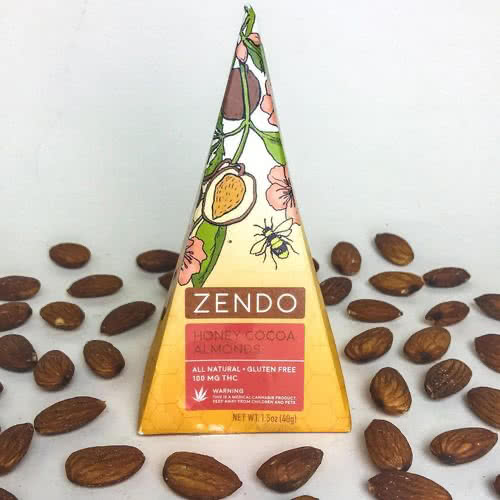 100 Mg THC Honey Cocoa Almonds
