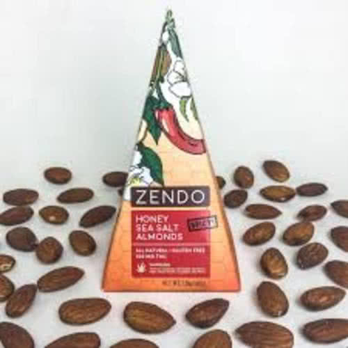100 Mg THC Spicy Honey Sea Salt Almonds